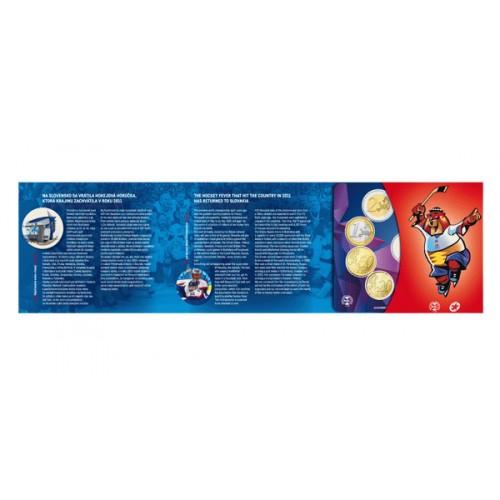 c510724f3ad38 ... Sada obehových EURO mincí SR 2019 - MS v hokeji IIHF (Obr. 2)
